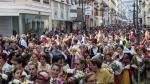 Ofrenda a la Virgen del Pilar de 2015