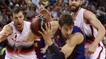 El Barcelona apaliza a un Tecnyconta superado desde el salto inicial