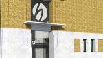 Recreación virtual del acceso acristalado y sin escaleras que tendrá la nueva sede.