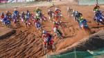 Salida de una de las carreras de MXS18, ayer en Motorland Aragón