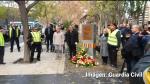 Homenaje a las víctimas del atentado de la Casa Cuartel de Zaragoza