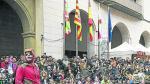 Imagen de las campanadas inclusivas de 2017.