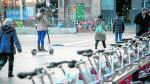 La llegada de nuevos servicios de movilidad reduce los usuarios del Bizi Zaragoza.