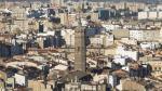Imagen aérea de Zaragoza, donde se concentran el 75% de las solicitudes de ayudas de alquiler.