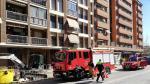 Escape de gas en el paseo Ramón y Cajal de Calatayud