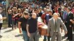 Último adiós al futbolista Emiliano Sala en su ciudad natal