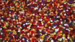 Los lacasitos, inconfundibles por su colorido y por su sabor