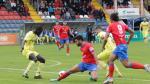Imagen del partido de ida disputado el Pinilla entre el Teruel y el Ejea