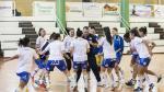 Entrenamiento del Sala Zaragoza de Primera División femenina de fútbol sala.