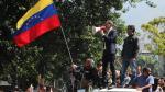 La oposición en Caracas apoya el levantamiento del presidente de la Asamblea Nacional, Juan Guaidó.