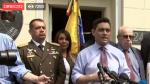 Univisión retransmite en directo los acontecimientos en Venezuela.