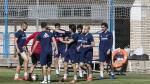 El Real Zaragoza ha entrenado en la ciudad deportiva