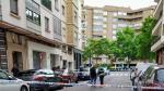 Un hombre herido por apuñalamiento en la calle de Lacarra