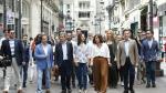 Inés Arrimadas llama en Zaragoza a una movilización a las urnas el domingo.