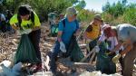 Esta acción en defensa del medioambiente y contra la contaminación ha sido convocada por las asociaciones ecologistas Ansar, Amigos de la Tierra en Aragón, Ecologistas en Acción de Zaragoza, Fondo Natural, Greenpeace y WWF