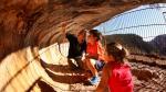 Más de 60 abrigos de arte rupestre existen en el Parque Cultural del Río Vero, varios de ellos visitables.