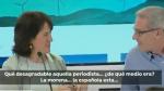 Fotograma de un vídeo subtitulado donde se aprecia el comentario