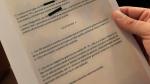 """Documento del acuerdo de Vox con el PP y Cs en el que se habla de """"gobiernos de colación""""."""