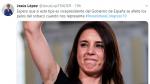 Tuit que el edil del PP colgó en su Twitter sobre Irene Montero.