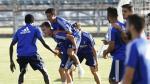 Entrenamiento en la Ciudad Deportiva del Real Zaragoza, viernes 9 de Agosto.