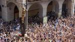 Imágenes del Cipotegato en las Fiestas de Tarazona de ediciones anteriores