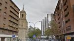 La avenida de César Augusto será una de las vías afectadas por los cortes de agua.