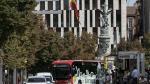El primer bus eléctrico en circular de forma habitual en Zaragoza se estrenó en la línea 38