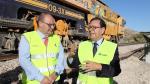 Obras en el ramal ferroviario, Teruel y Puebla de Valverde /04-10-19/foto:Javier Escriche [[[FOTOGRAFOS]]]