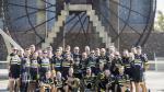 Socios del Club Ciclista Iberia, en una quedada celebrada en Zaragoza