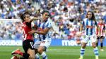 Derbi entre la Real Sociedad y el Athletic Club de la Liga Iberdrola de fútbol
