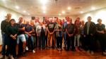 Mayte Pérez, reunida con concejales, alcaldes y militantes del PSOE del Matarraña.