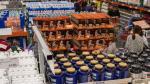 Interior del almacén de Costco en Getafe.