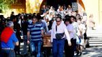 Funeral de José Miguel Uribe, fallecido de un disparo efectuado el lunes por un soldado en Curicó
