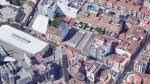 El intento de robo con fuerza se ha producido en la call Marqués de Ahumada, en el zaragozano barrio de San José