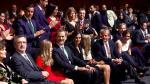 Los Reyes y sus hijas, ovacionados al inicio de los premios Princesa de Gerona