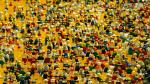 Muñecos del universo Lego.