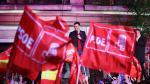 El PSOE celebra la victoria