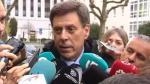 """""""Hoy es un día muy triste, muy triste"""", ha dicho Juan Carlos Quer a su llegada a los juzgados"""
