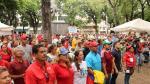 Adeptos al gobierno de Nicolás Maduro.