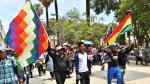 Protestas en Cochamba.