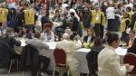 Comida con el Papa en el Vaticano