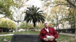 Vicente Ubalde piensa viajar la semana que viene al Sáhara. En la imagen, este martes en Zaragoza.