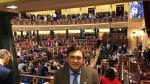 Tomás Guitarte, diputado por Teruel Existe, en su primer día en el Congreso