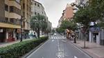 el suceso tuvo lugar en la calle Conde de Aranda de Zaragoza.