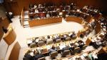 Los parlamentarios aragoneses, en el pleno que ha aprobado este lunes los presupuestos de 2020.