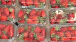 Fresas en un supermercado