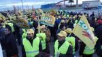 Protesta agricutores Zaragoza