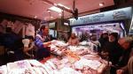 Primeros compradores en el nuevo Mercado Central
