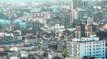 Vistas aéreas de Zaragoza desde la torre de Nuestra Señora del Pilar, la más próxima al Ayuntamieto y a la plaza / 10-10-2016 / Foto: José Miguel Marco [[[HA ARCHIVO]]]