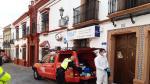 La UME desinfecta la residencia de mayores de El Viso tras varios casos de positivo en el centro
